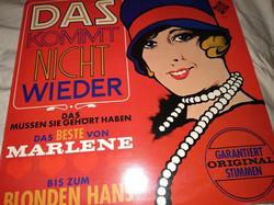 Régi bakelit lemez LP vintage antique LP bakelite das commt nicht wieder