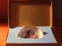 Herendi Viktória mintás tálka,  eredeti Herendi doboz