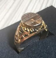 Női 14k arany gyűrű 2,9g