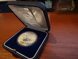 Budapest nevezetességei 99,9 % 1 unciás ezüstérme