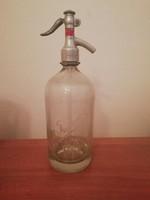 Régi osztrák szódásüveg