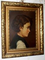 Kassai Varga garantáltan eredeti festmény 389