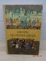 Grimm legszebb meséi - régi mesekönyv, 50 mese Róna Emy rajzaival (1980)