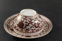Antik fajansz teás csésze aljjal 392