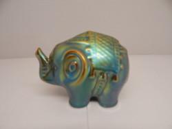 Zsolnay eozin elefánt