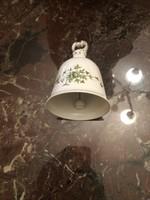 Hollóházi porcelán csengő