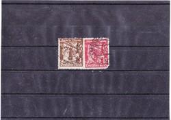 Német birodalom emlékbélyegek  1935