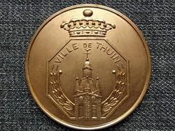 Thuin városa (Belgium) bronz érem (id45796)