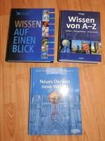 Német nyelvű tudománytörténet : Wissen von A-Z Wissen auf einen Blick  Neues Denke neue Welten