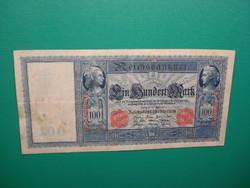 Német Császárság 100 márka 1910