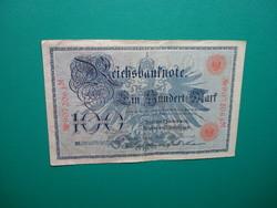 Német Császárság 100 márka 1908