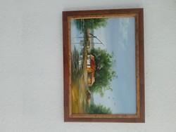 Sztopka Anna festmény 20x30