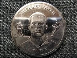 Anglia A hivatalos angliai osztagérem-gyűjtemény 2004 Michael Owen 2004 (id45964)