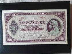 Nagyon szép 100 Pengő 1945.