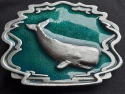 Övcsat - U.S.A.- GAP - bálna 1993 - fém tűzzománc