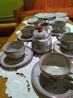 Német porcelán reggeliző szett