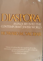 HOWARD M. SACHAR : DIASPORA   -  JUDAIKA  - DEDIKÁLT !