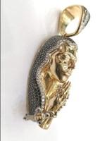 Arany Mária medál gyémántokkal