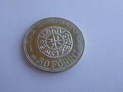 Szent István 50 Forintos emlékérme, 640-es finomság