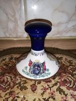 Porcelán rumos pici üveg