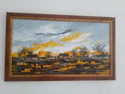 Sztopka Anna festmény 40x22