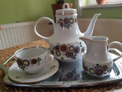 Német porcelán kávés/teás készlet 12 darabos