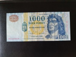 Szép Millenneumi 1000 Forint.