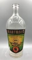 Angyalföldi Rum- és Likőrgyár  CHARTREUSE gyógynövénylikőr üveg címkével