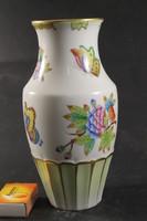 Herendi viktória mintás sokszögű váza 414