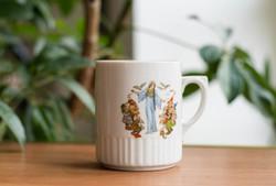 Zsolnay pajzspecsétes bögre Hófehérke, mese mintával - gyermek csésze, gyerek porcelán