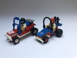 LEGO 6528 + 6502 - 2 db versenyautó 1980-as évek