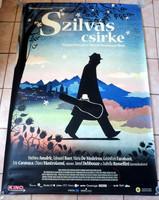""""""" SZILVÁS CSIRKE """" 2011 ES FILM EREDETI NAGY MÉRETŰ VÁSZON MOZI PLAKÁT !"""