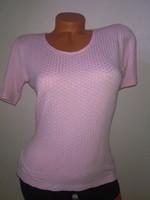Olsen női rugalmas rózsaszín felső blúz póló