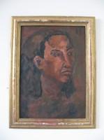 Portré, férfi vagy női (szerző ismeretlen)