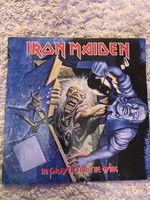 Iron Maiden: No Prayer For The Dying bakelit lemez