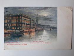 Antik levelezőlap, képeslap, Velence, 1920-as évek