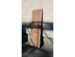 Antik fa ajtó