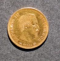 Napoleon III. 10.Francs.