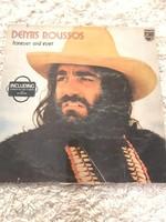 Demis Roussos: forever and ever bakelit lemez
