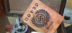 Német, náci NSDAP igazolvány
