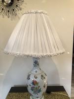 Herendi antik Viktória mintás lámpa! Óriási!