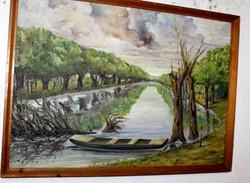 Antik festmény 410
