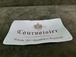 """""""Courvoisier"""" feliratú porcelán hamutartó"""