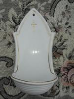 Zsolnay szenteltvíztartó