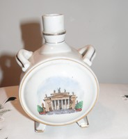 Eger Főszékesegyház porcelán kulacs