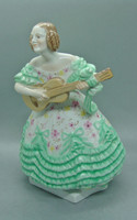 B162 Herendi Déryné figura - gyönyörű gyűjtői darab - alacsony árról indítva!