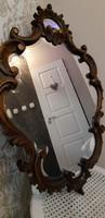 Barokk faragott tükör