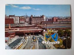 Retro levelezőlap, képeslap, Essen