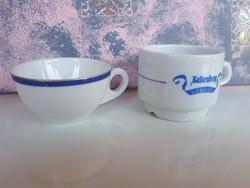Alföldi és Zsolnay kávés csésze egyben