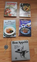 Német nyelvű szakácskönyvek - Miele  Mikrowellen-Kochbuch Backen, Braten und Grillen Schnell&Schlank